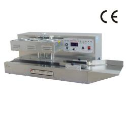 DG-1500A tabletop automatic aluminum foil induction sealer with conveyor Belt
